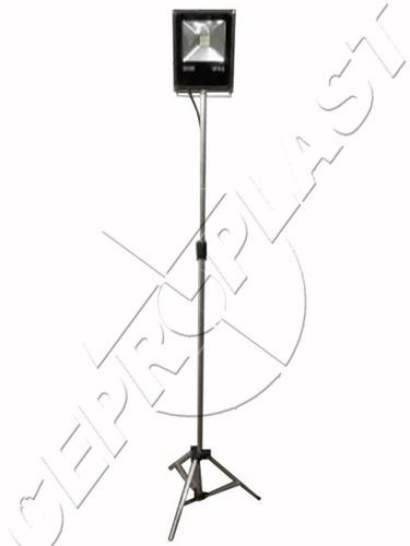 suporte tripé holofote refletor led iluminação 3,0mt