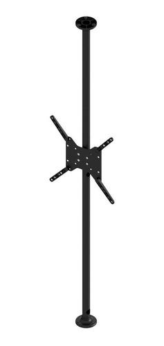 suporte tv 10 a 55 teto ao móvel ou móvel ao móvel - preto