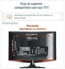 suporte tv articulado lcd led plasma 3d  26 a 40pol promoçao