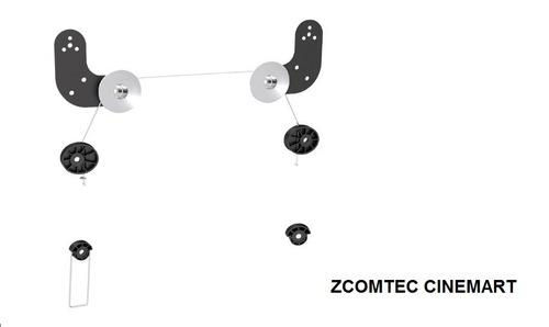 suporte tv cabo de aço 23/60 600x600 z477 ft-l06 são paulo