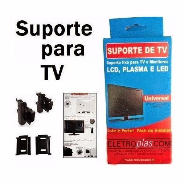 Suporte Tv Televisão Fixo Universal - 10 A 71 Polegadas - R$ 26,96 ...