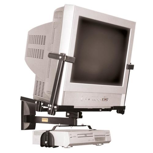 suporte tv/dvd brasforma 14 a 21  sbr1.1 pt tela plana/slim