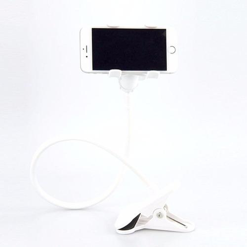 suporte universal celular articulado 360º pescoço ganso