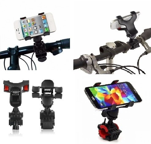 suporte universal de bike bicicleta para iphone 4 , 5 , 6