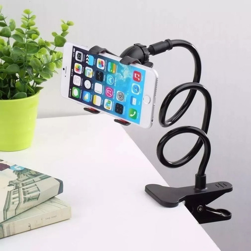 suporte universal flexivel smartphone iphone galaxy moto g x
