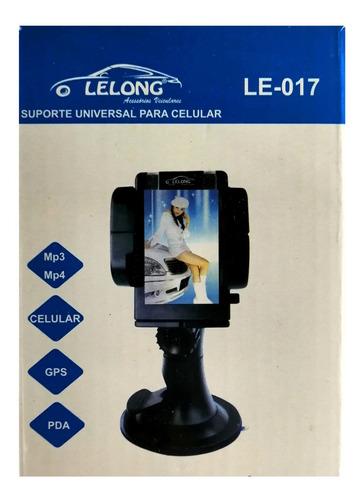 suporte universal gps 360º para celular lelong le-017