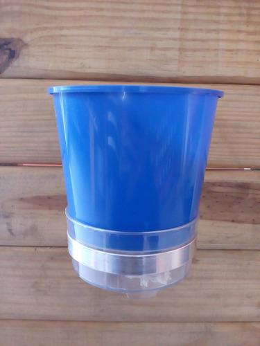 suporte vaso auto irrigável hidro green 10 unidades