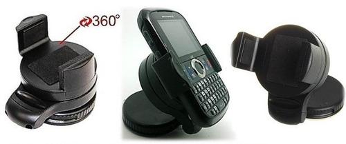 suporte veicular iphone 5 5c 5s galaxy s4 s5 razr  360° pro