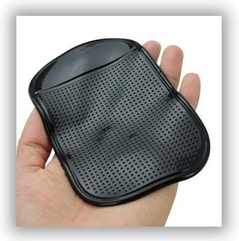suporte veicular magic pad anti derrapante iphone galaxy v18