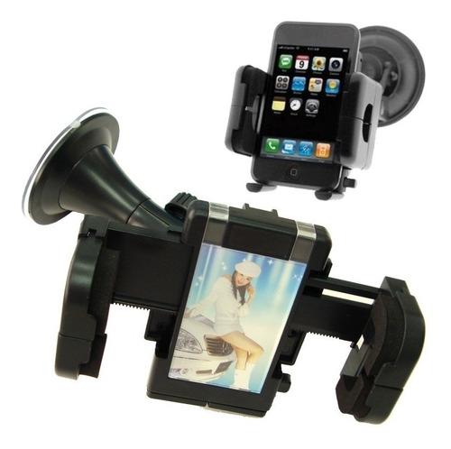 suporte veicular universal ventosa celular gps smartfone pda