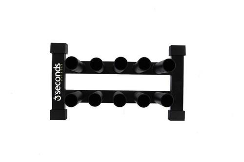suporte vertical para 10 barras olímpicas crossfit/lpo