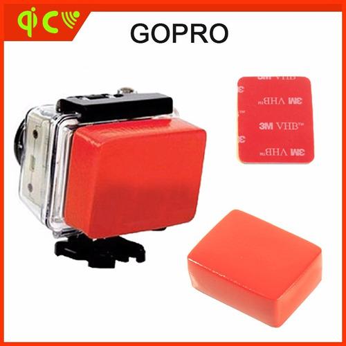 suportes caixa protetora + boia flutuante + adesivo 3m novo