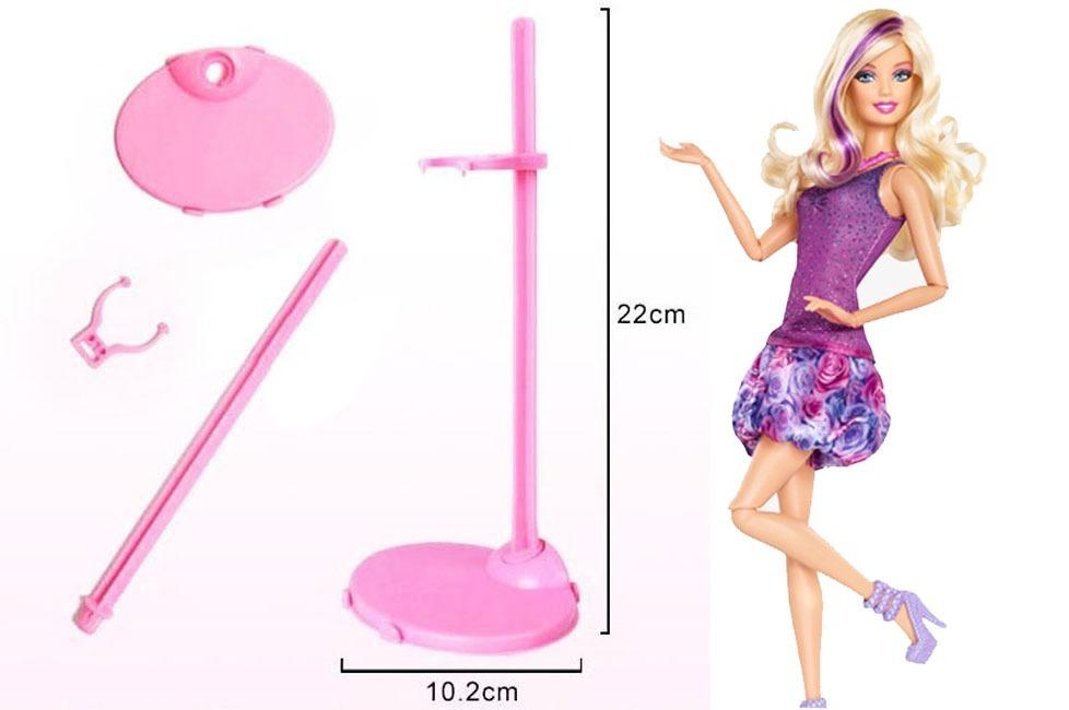 suportes coloridos boneca barbie monster high disney ever r 9 99