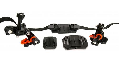 suportes montagem câmera de ação capacete bike viv-apm7001