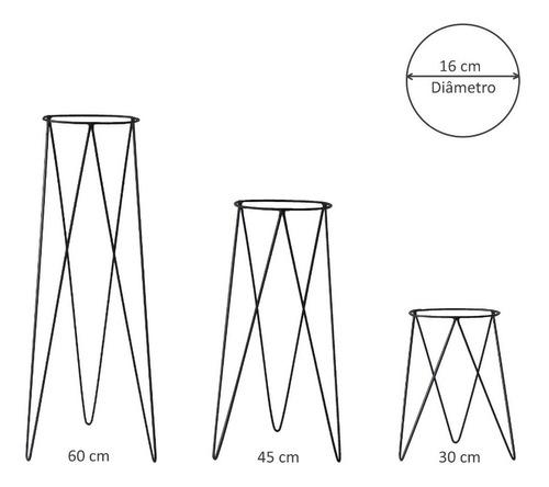 suportes para vaso vasos