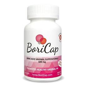 Supositorios Vaginales De Ácido Bórico Boricap | 30 Cuent