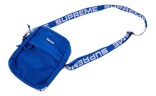 supreme shoulder bag ss18 importada - pronta entrega