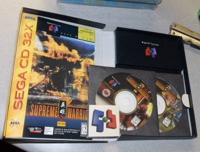 Supreme Warrior Para Sega Cd 32x, Inmaculado!!!! - $ 2 500,00