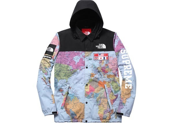 comprar the north face supreme