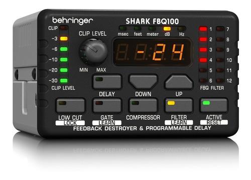 supresor de realimentación behringer fbq100 shark