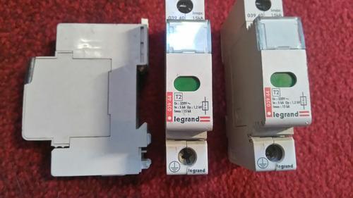 supresores de voltaje sin uso