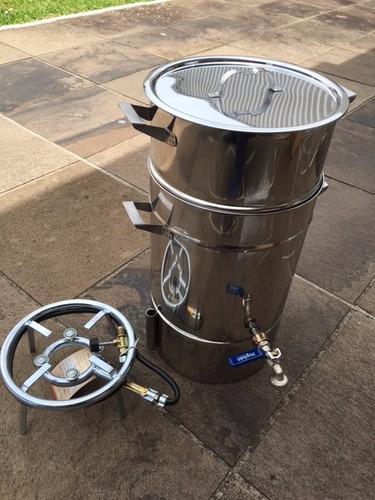 suqueira industrial panela máquina fazer suco 7kgs aço inox