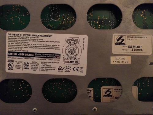 sur-gard sistem iii kit completo 3 tarjetas central alarmas
