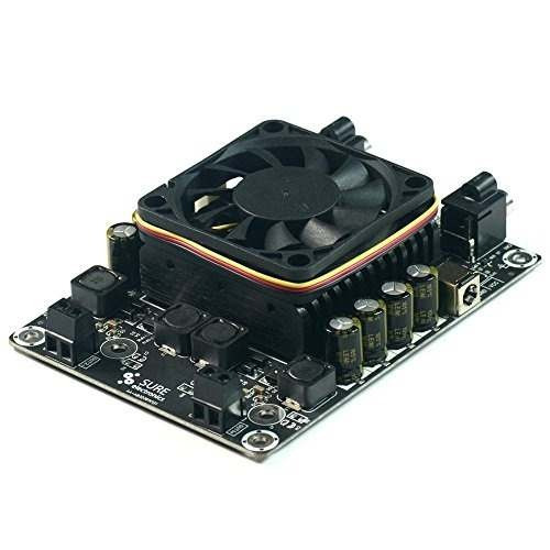 sure electronics 2 x 50w 6 ohm class d amplificador de audi