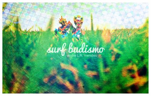 surf budismo - andre l.r. mendes - cartão postal