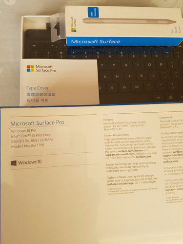 surface pro i5 256gb 8mb