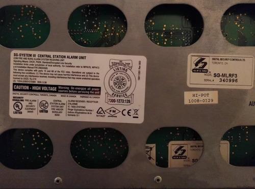 surgard receptora monitoreo central de alarmas system iii