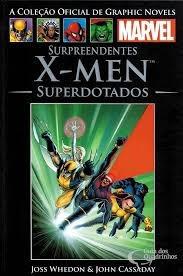 surpreendentes x-men superdotados - col  joss whedon
