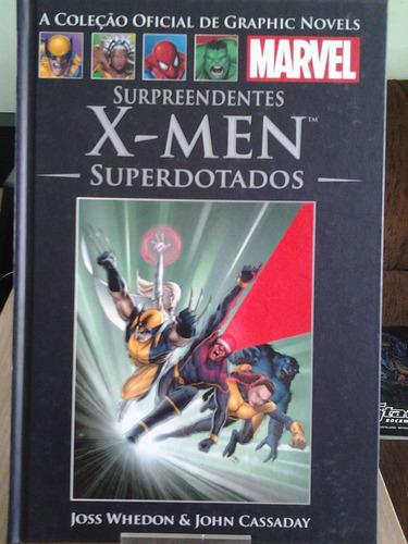 surpreendentes x-men superdotados graphic novel nº 36 salvat