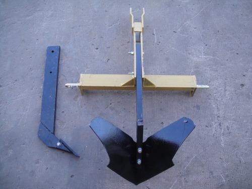 surqueador / subsolador arado para 3 puntos de tractor