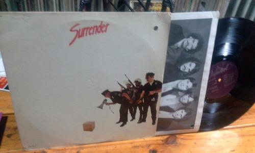 surrender 1980  vinilo usa lp hard rock prog canada triump