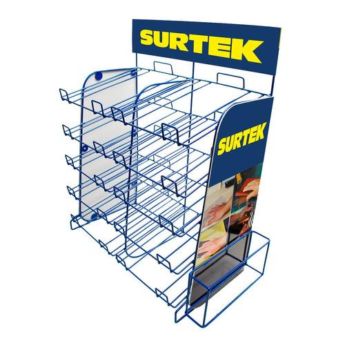 surtek exhibidor para lijas mod:rlija *envío gratis