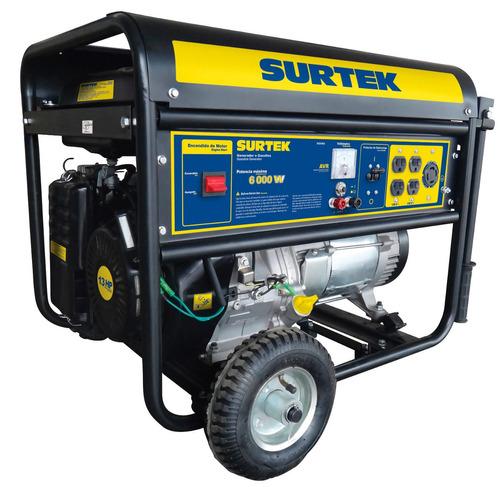 surtek generador a gasolina 6.0kw max mod:gg560