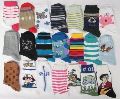 surtido juventud calcetines - tamaño 6-8 caso paquete 120