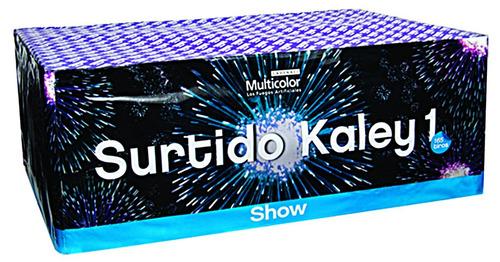 surtido kaley 1 pirotecnia fuegos artificiales