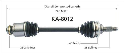 surtrack ka -8012 cv eje eje