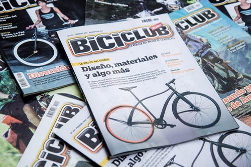 suscripción revista biciclub en papel por 6 meses