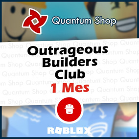 Suscripción Roblox Outrag Builders Club Obc 1 Mes 60 R X Dia - roblox builders club suscripci#U00f3n 1 mes cl#U00e1sica