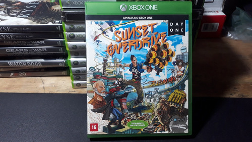 susent overdrive - xbox one