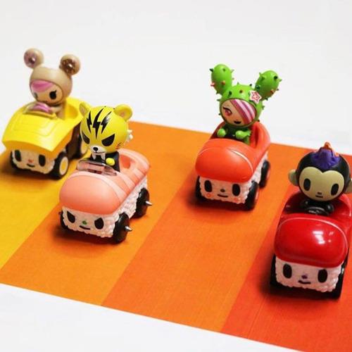 sushi car tokidoki maxx turbo toro carro en caja