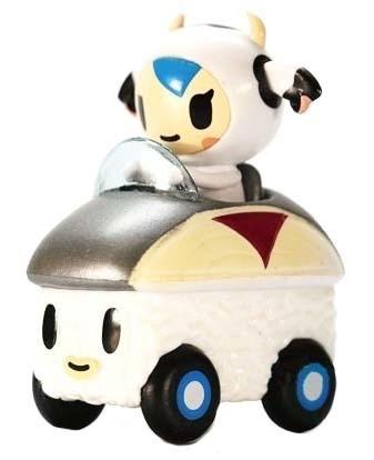 sushi car tokidoki mozzarella saba speedster carro en caja