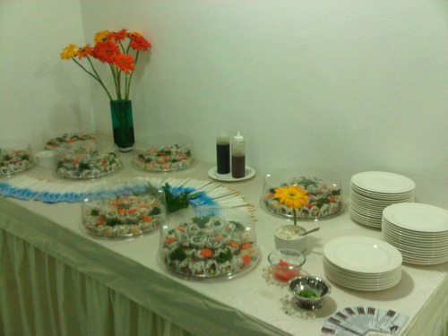sushi - dinisus sushi food - eventos - ingredientes - cursos