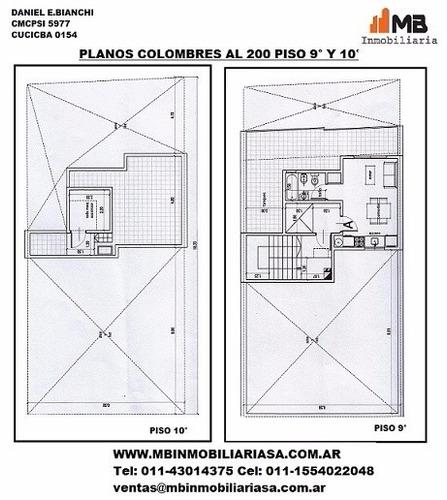 suspendido!! almagro monoamb.c/balcón  colombres 200 9°a