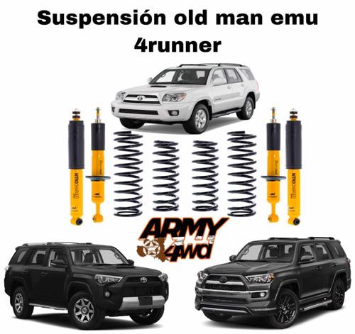 suspensión old man emu 4runner