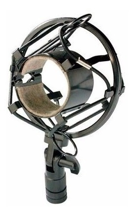 suspension stagg shock mount p/ microfono condenser araña