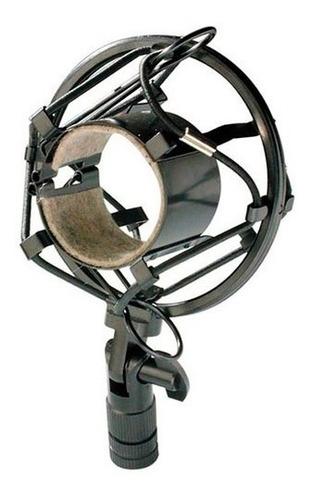suspension stagg shock mount p/ microfono condenser shomoh